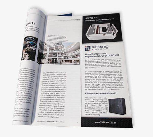 Anzeigen-Fachzeitschriften
