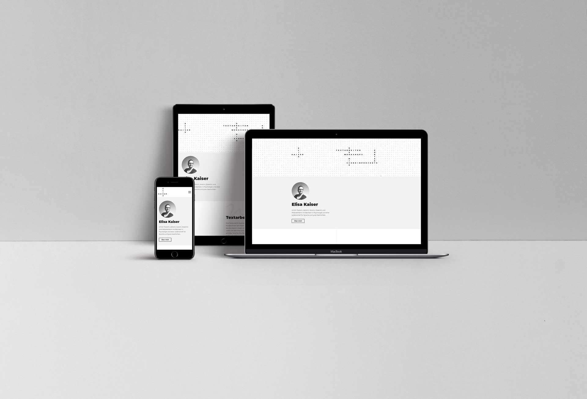 Elisa Kaiser - Webseite für Autorin