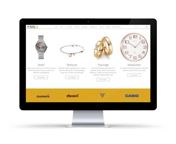 Mit dynamischer Shopverlinkung Uhren Deißing