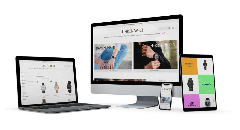 Online Shops für Uhren