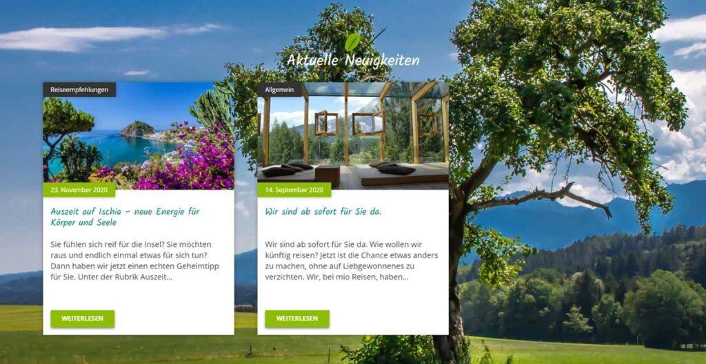 Webseite-mio-Reisen-Newsbeiträge